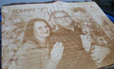 fotogravura lemn